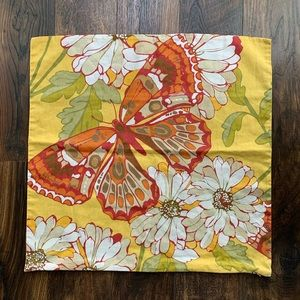 Pottery Barn Butterfly Pillow Cover
